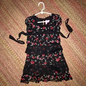 Other - Stylish black and dark pink party dress, kids 6